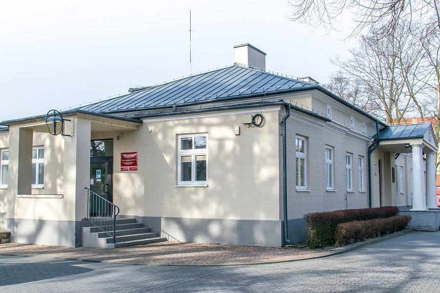 Budynek nr 1 Urzędu Miasta - wejście od strony wschodniej