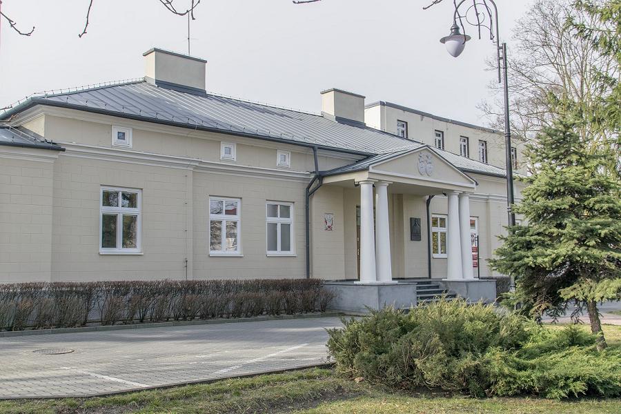 Budynek nr 1 Urzędu Miasta - wejście od strony północnej